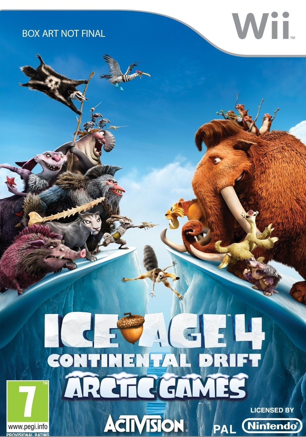 Ice Age Continental Drift USA WII [MULTI]