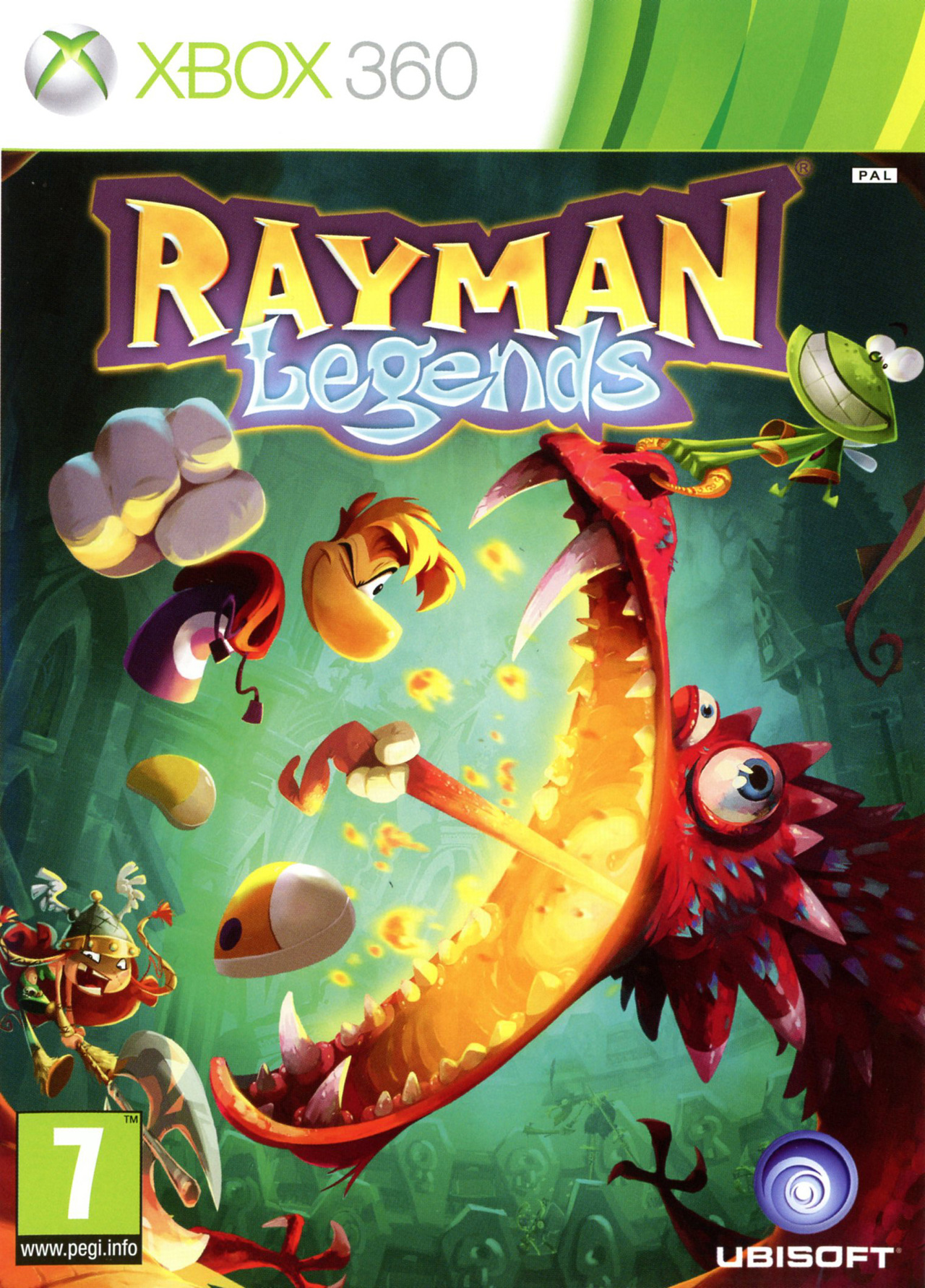 rayman legends sur xbox 360. Black Bedroom Furniture Sets. Home Design Ideas