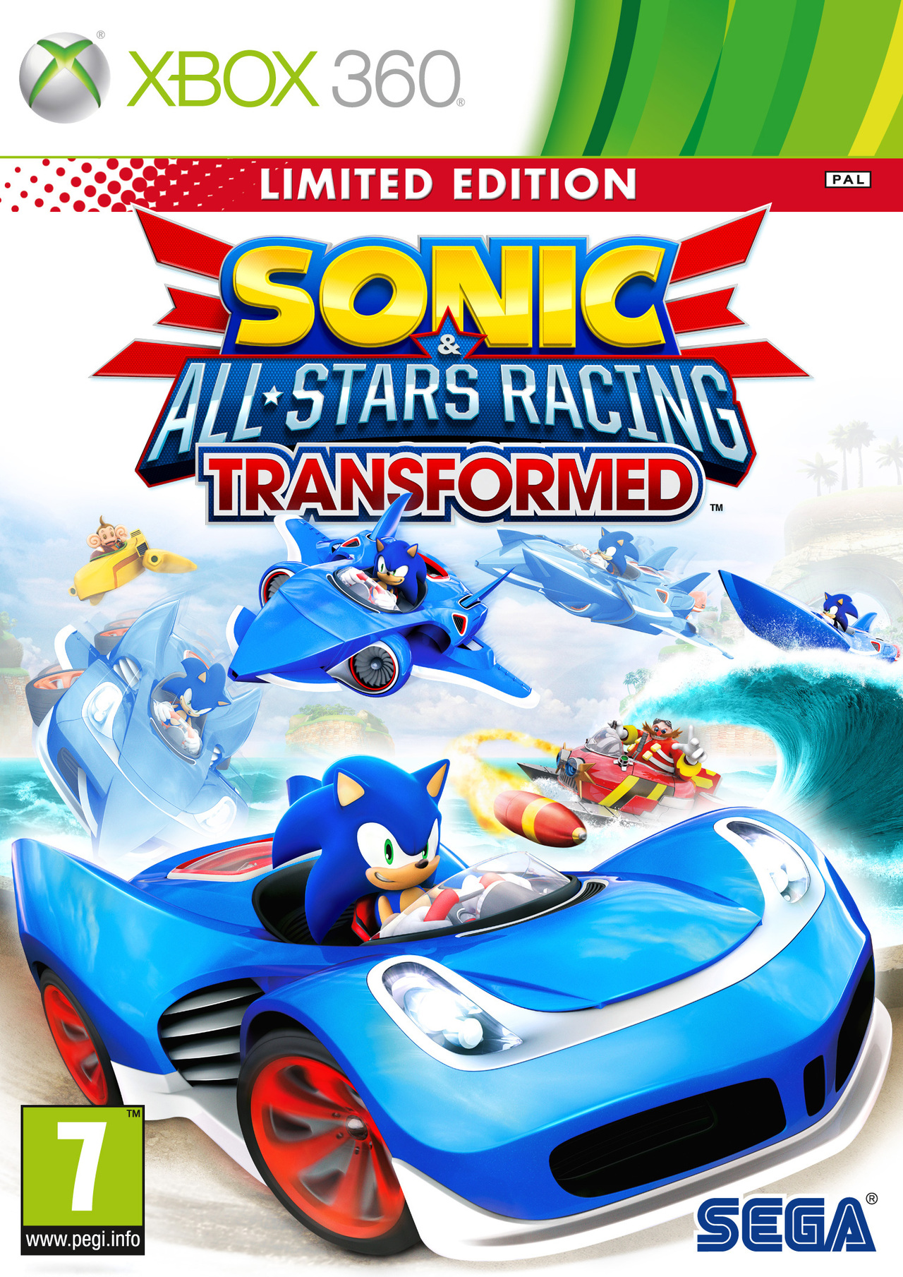 sonic all stars racing transformed sur xbox 360. Black Bedroom Furniture Sets. Home Design Ideas