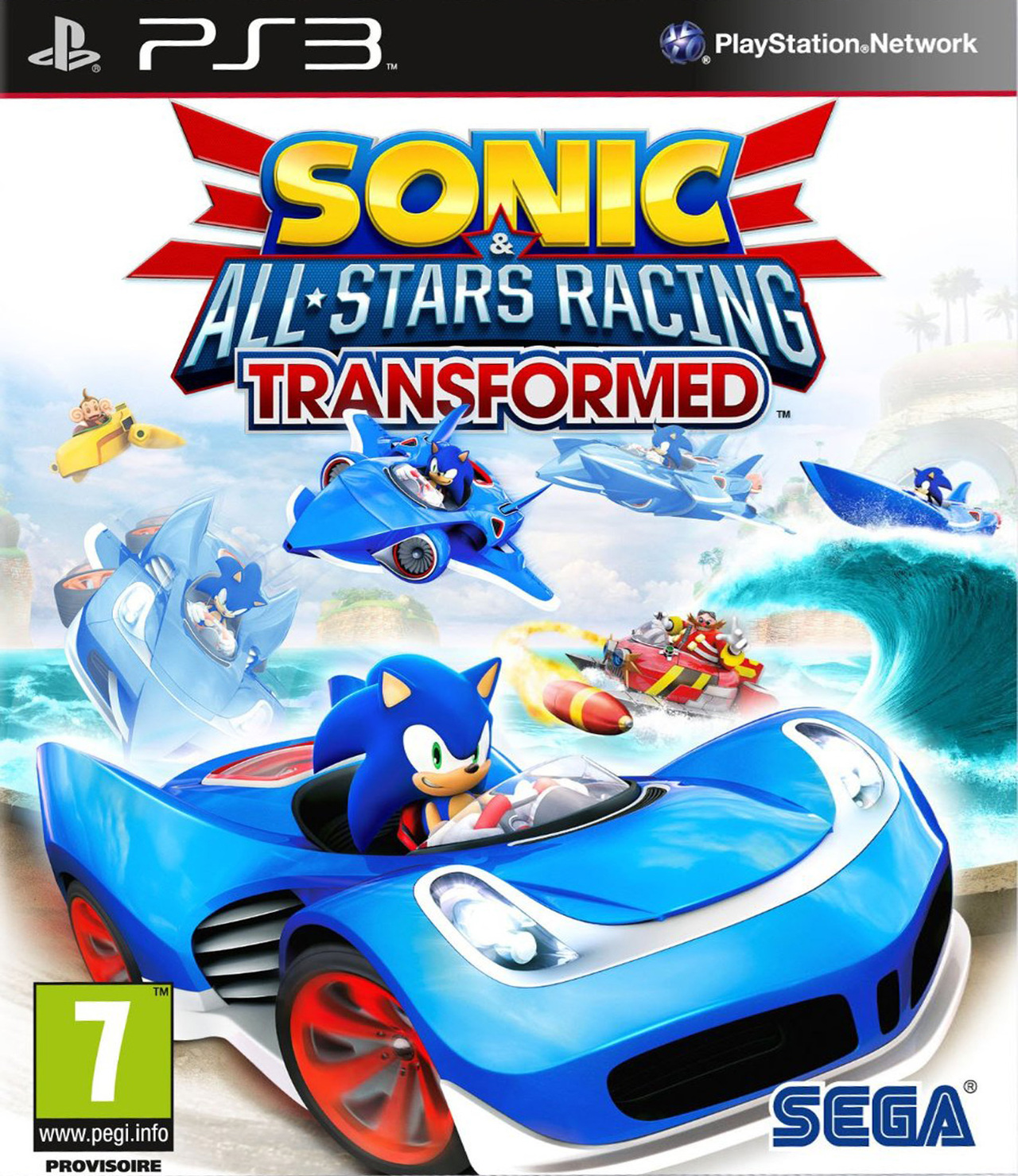 Sonic & All Stars Racing Transformed PS3 [MULTI]