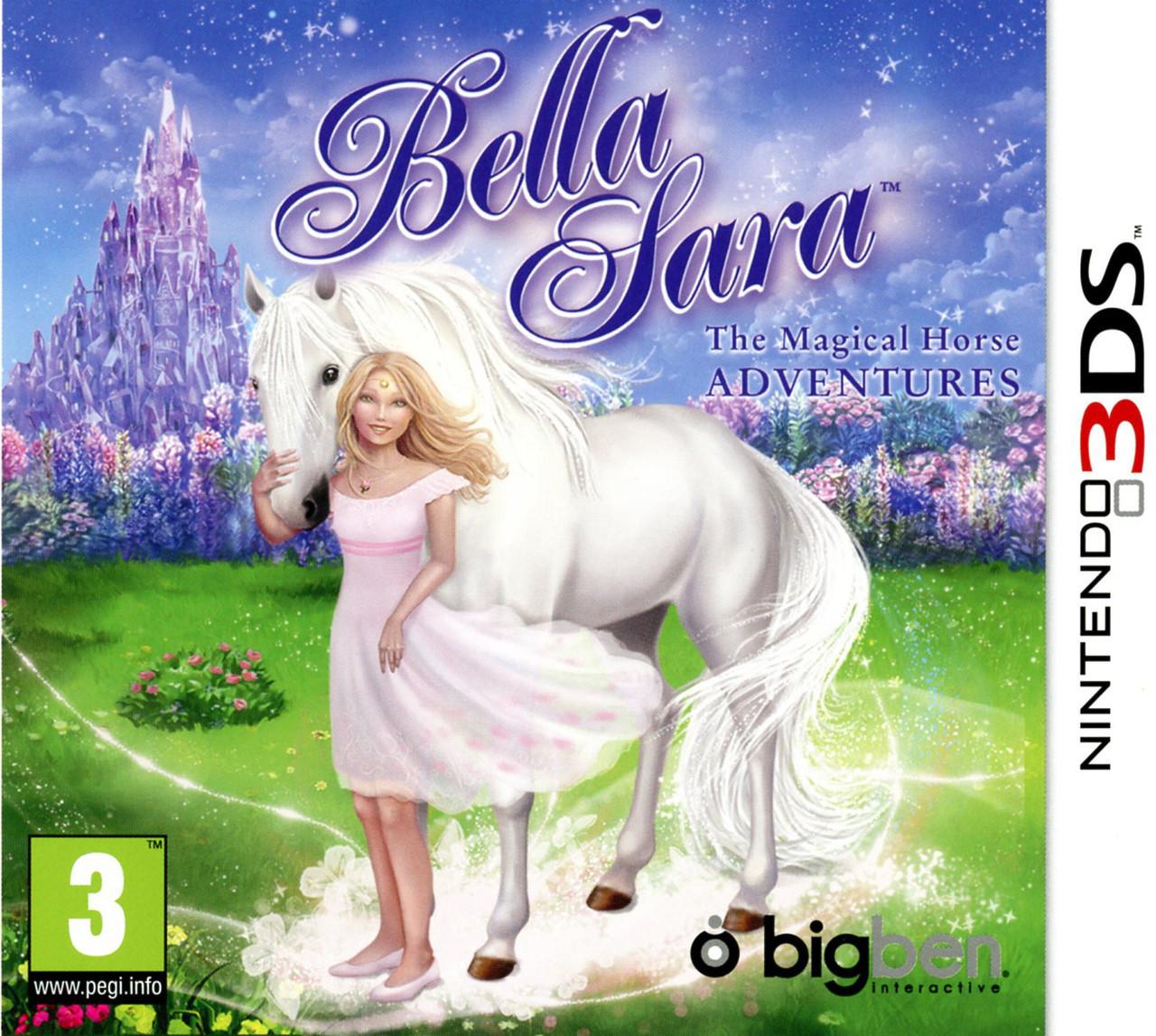 Bella sara the magical horse adventures sur nintendo 3ds - Jeux de bella sara ...