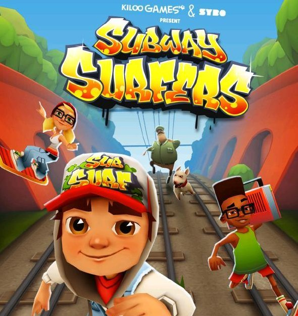 ����� ���� ��� �� ��������� 2014 , ����� ���� ��������� ������� Subway Surfers 2014