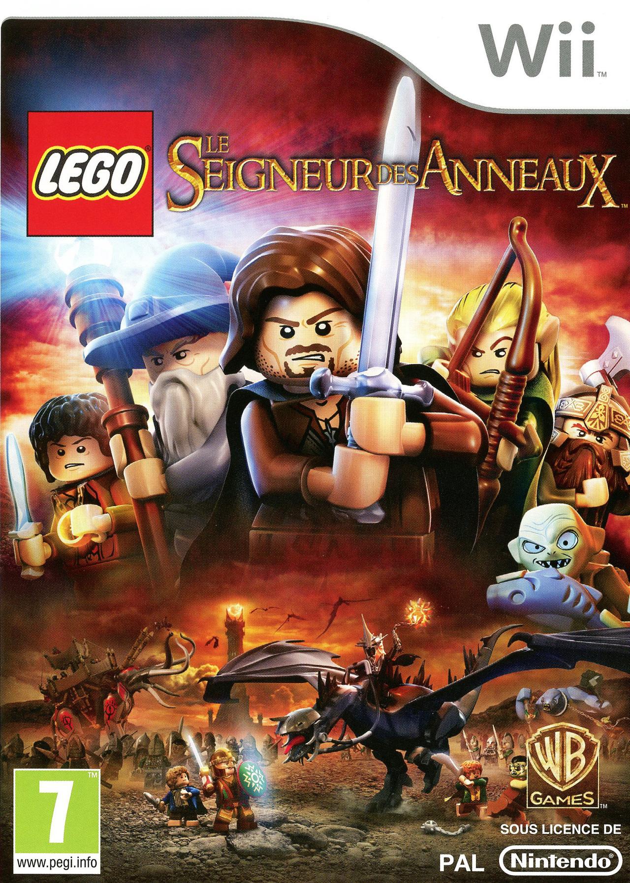 Lego le seigneur des anneaux sur wii - Jeux de lego sur jeux info ...
