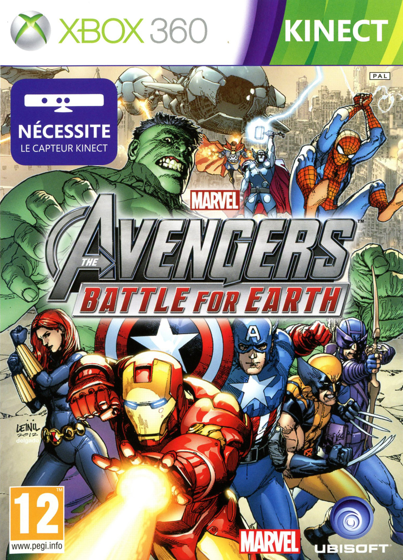 jeuxvideo.com Marvel Avengers : Battle for Earth - Xbox 360 Image 1