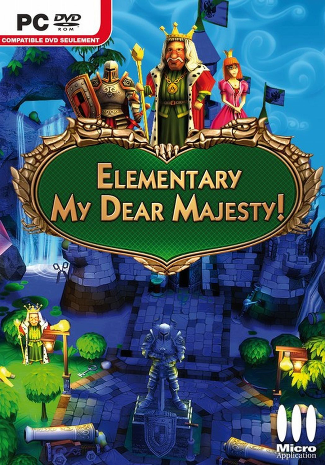 Elementary my dear majesty rus