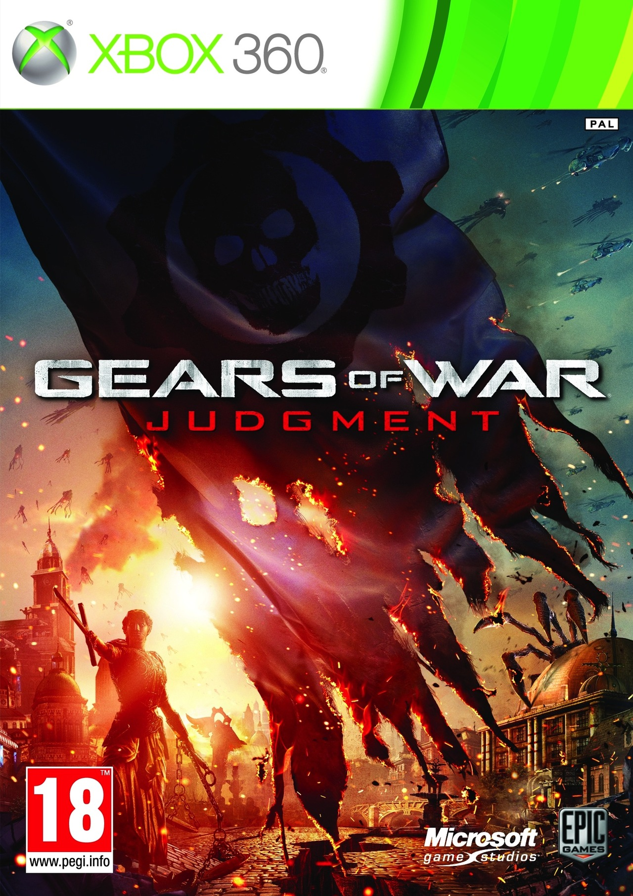Gears of War Judgment XBOX360 [FREE] [MULTI]