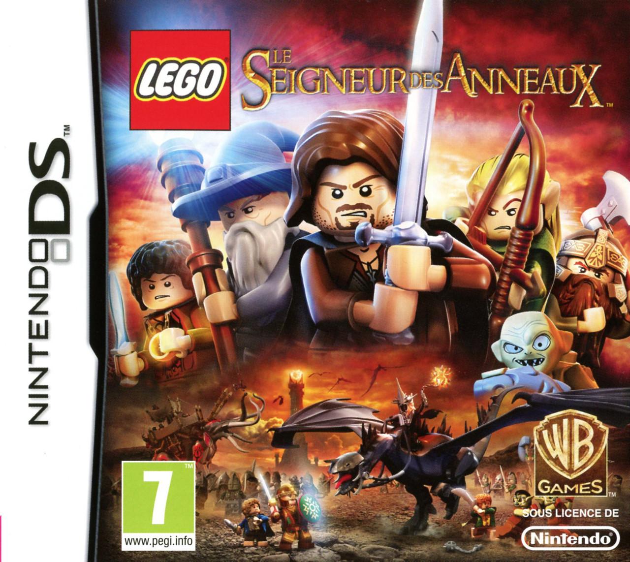 Lego le seigneur des anneaux sur nintendo ds - Jeux de lego sur jeux info ...