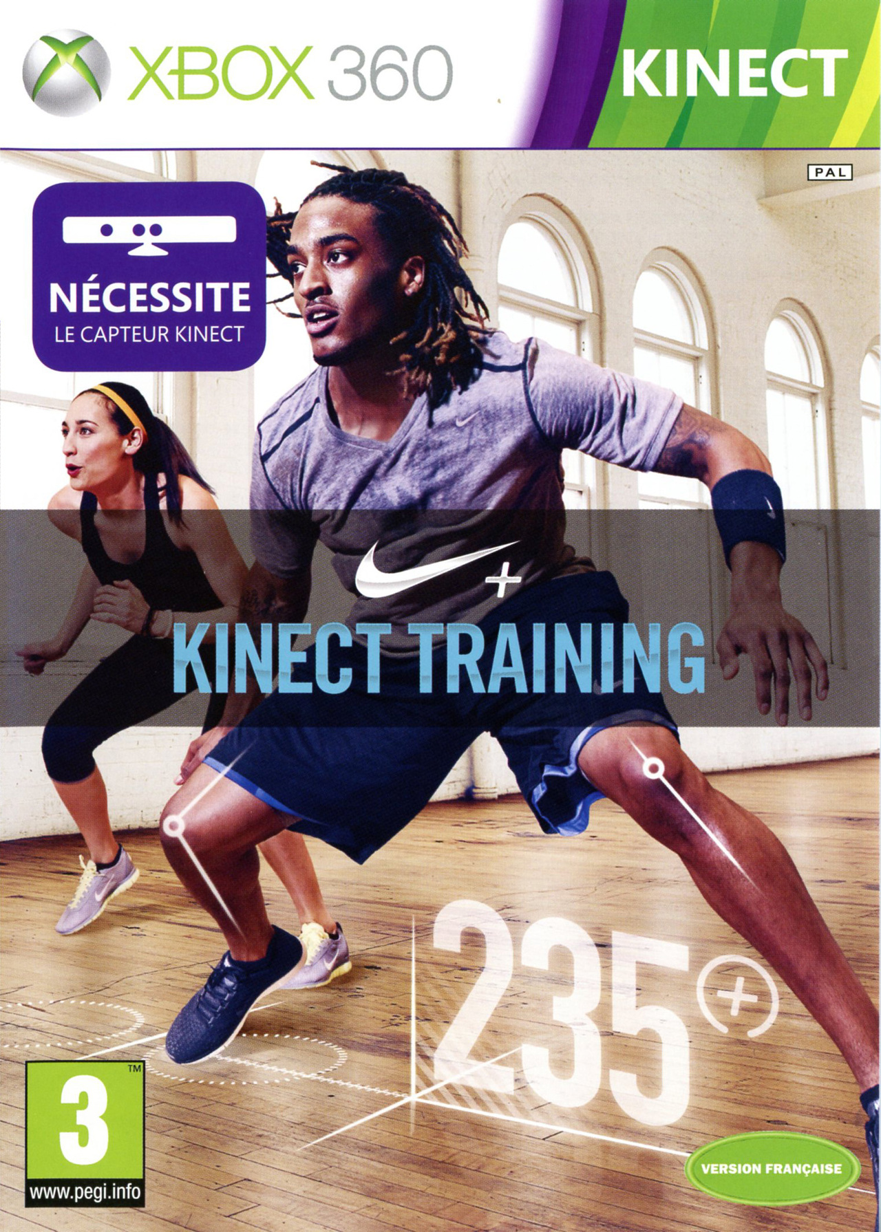 Nike Kinect Training PAL XBOX360 [MULTI]
