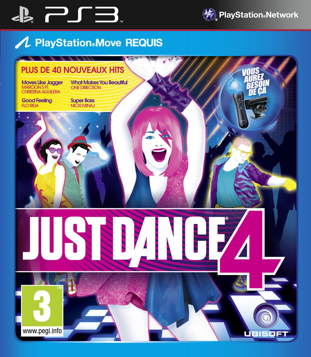 just dance 4 sur playstation 3. Black Bedroom Furniture Sets. Home Design Ideas