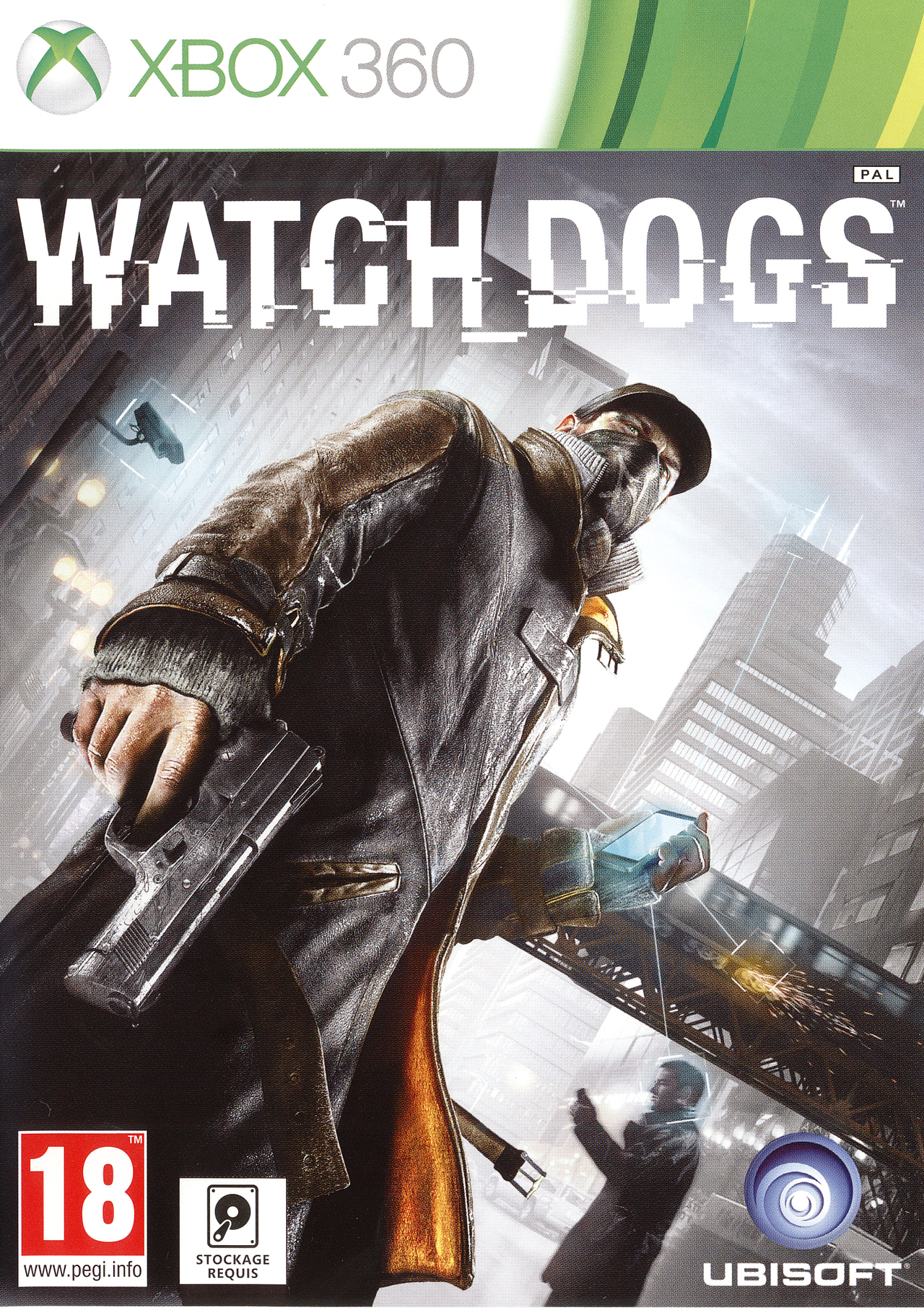 watch dogs sur xbox 360. Black Bedroom Furniture Sets. Home Design Ideas