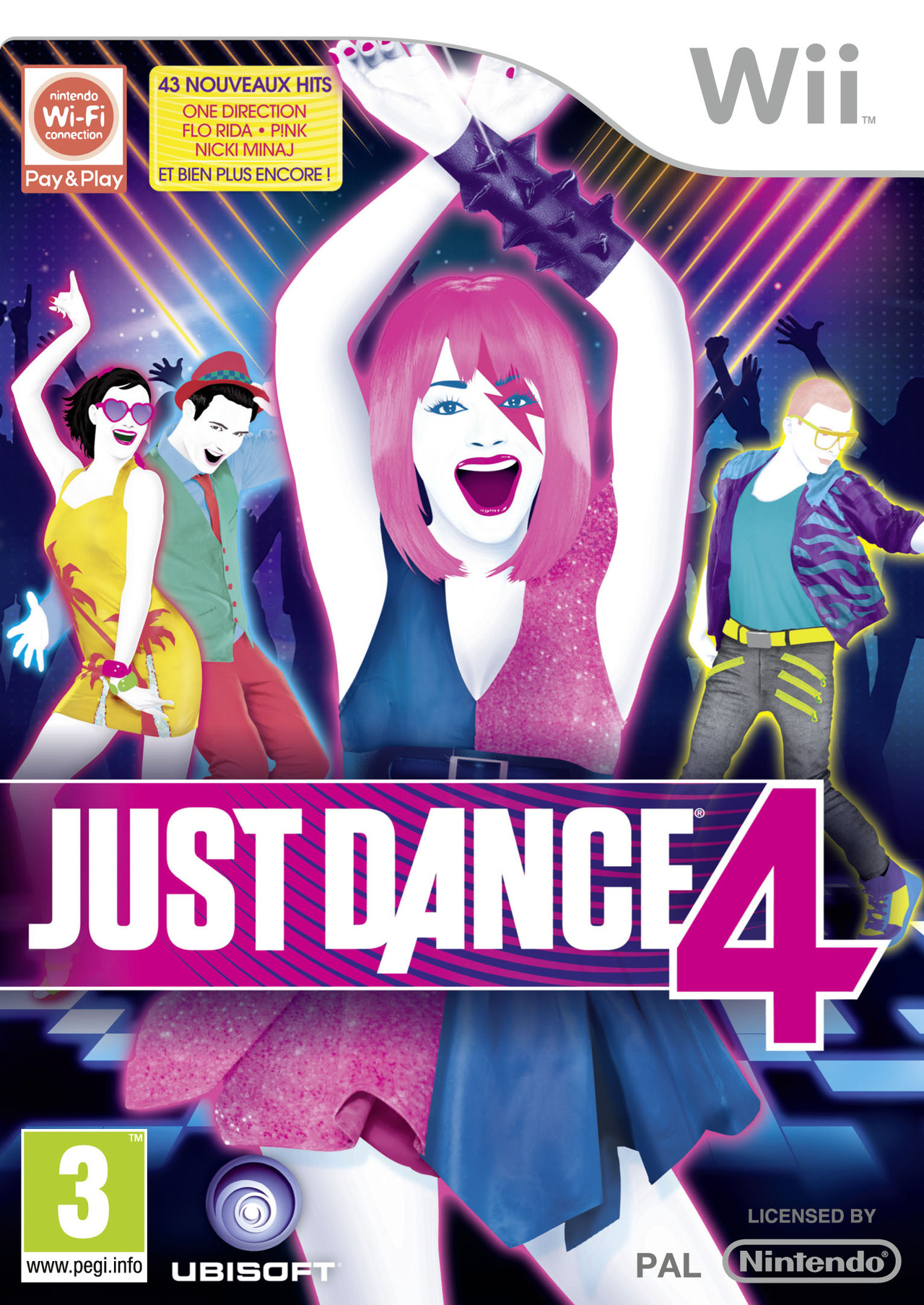 Just Dance 4 PAL Wii [MULTI]
