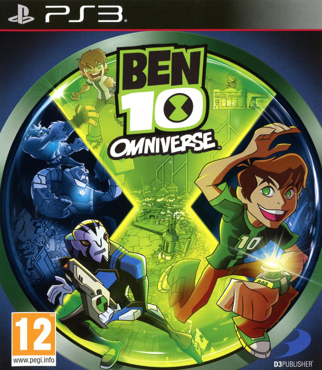 Ben 10 omniverse sur playstation 3 - Jeux ben 10 info ...