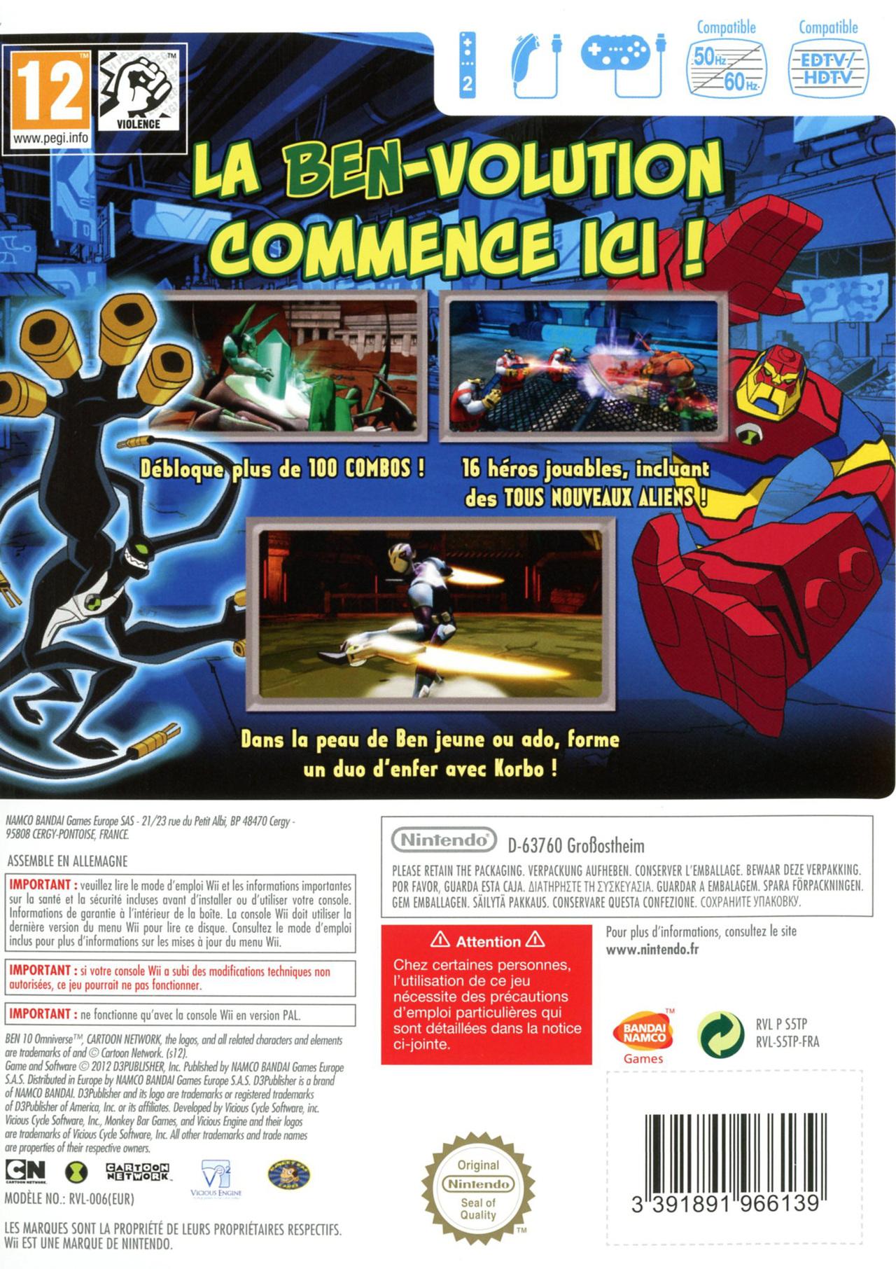 jeuxvideo.com Ben 10 Omniverse - Wii Image 2 sur 25