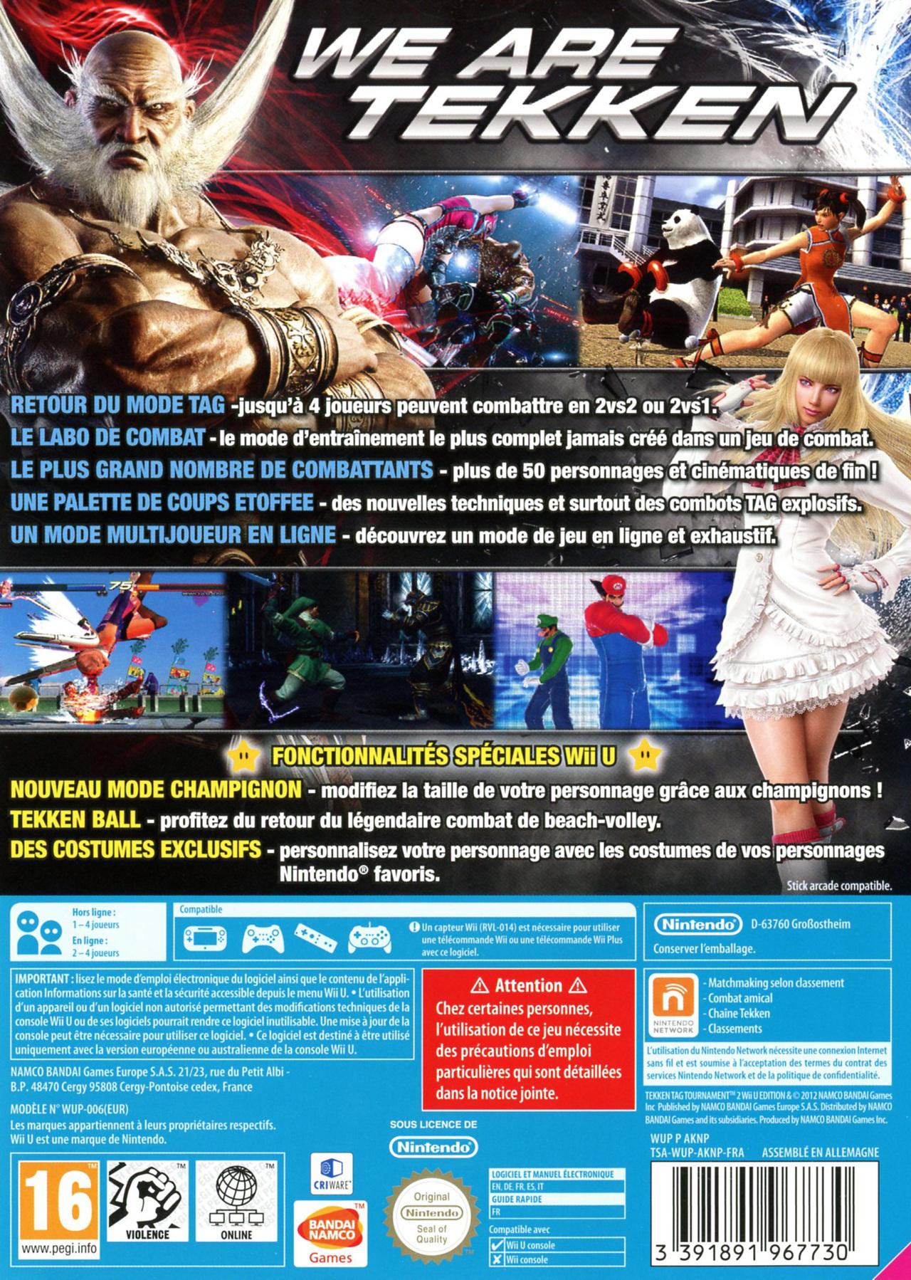 Tekken Tag Tournament 2 Game Cover