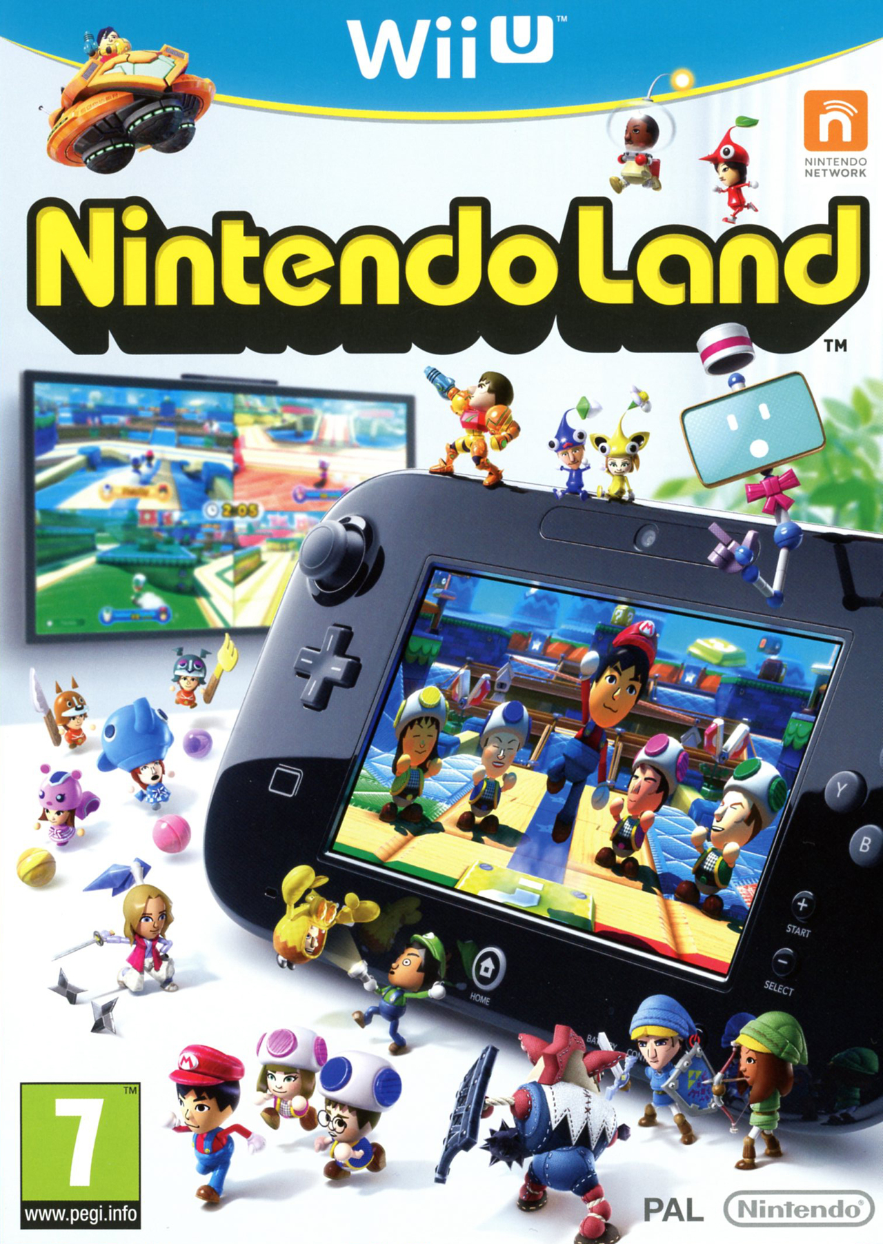 Out For Wii U Games : Nintendo land sur wii u jeuxvideo