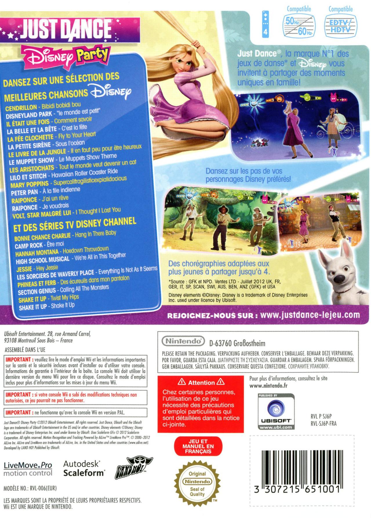 jeuxvideo.com Just Dance : Disney Party - Wii Image 2 sur 94