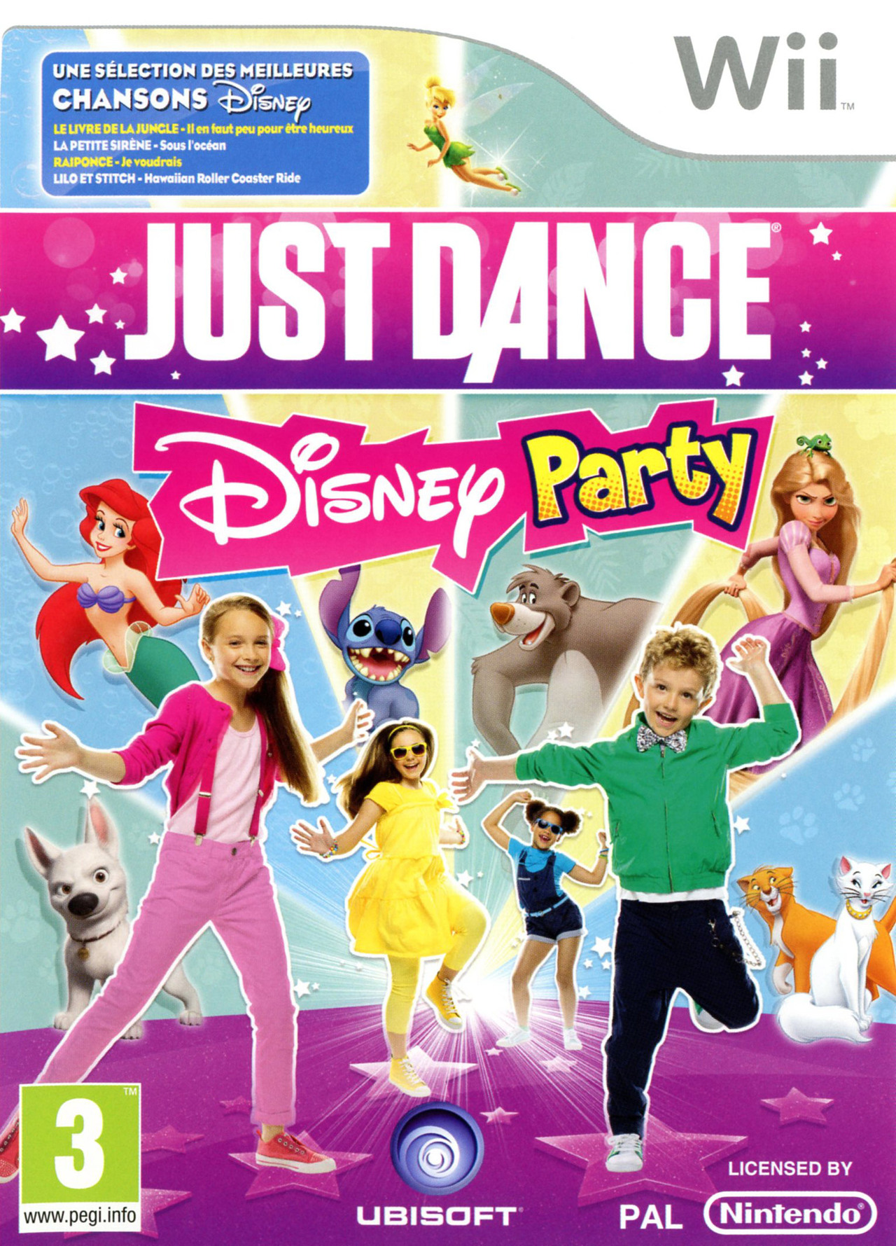 Just Dance Disney Party USA WII [MULTI]