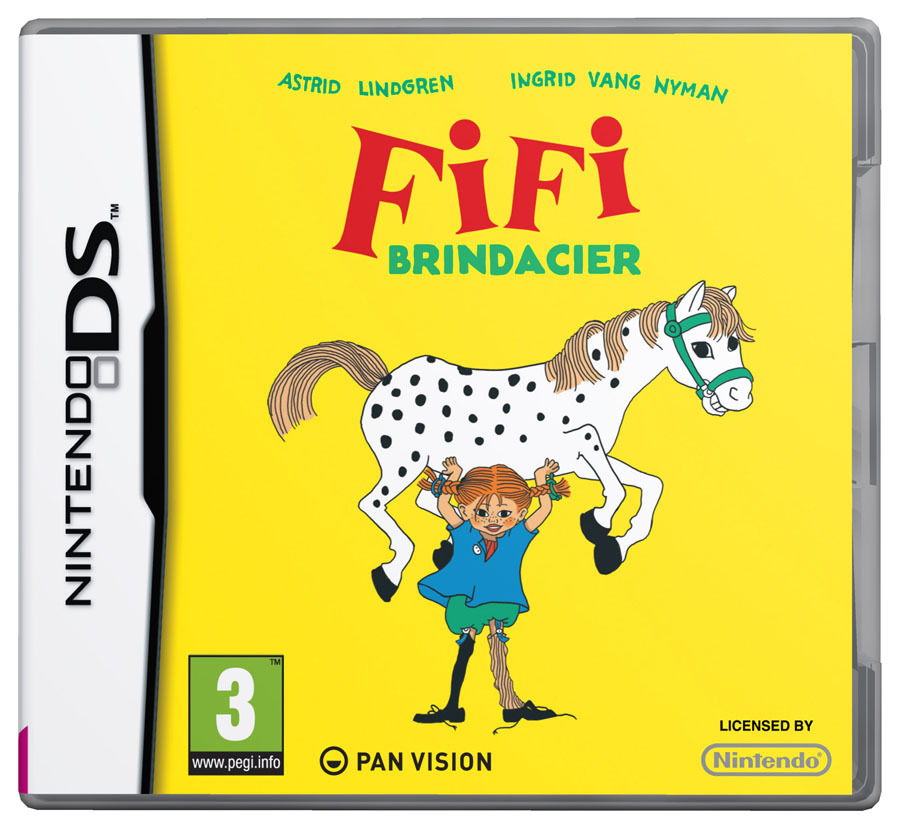 [MULTI] [Nintendo DS]  Fifi Brindacier