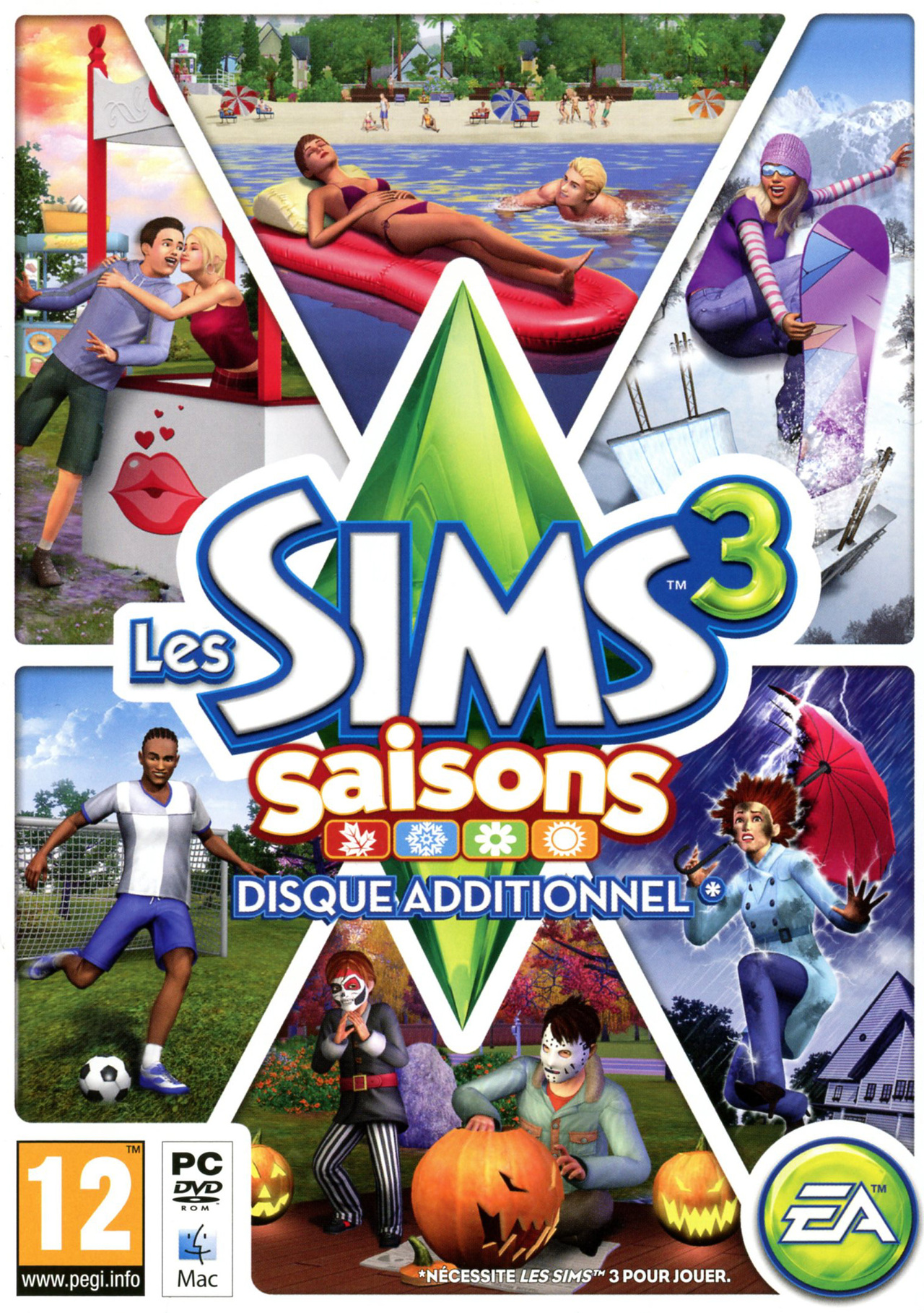 The Sims 3 Seasons [FR] [MULTI]