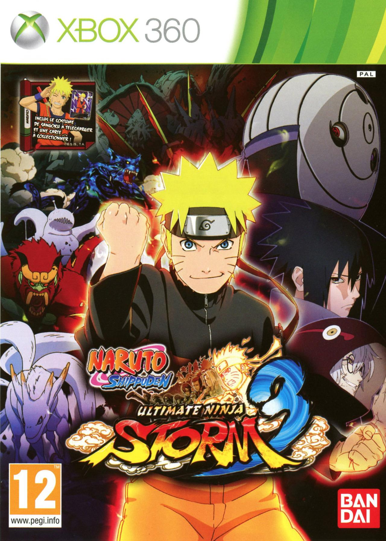 how to play naruto ninja storm 3