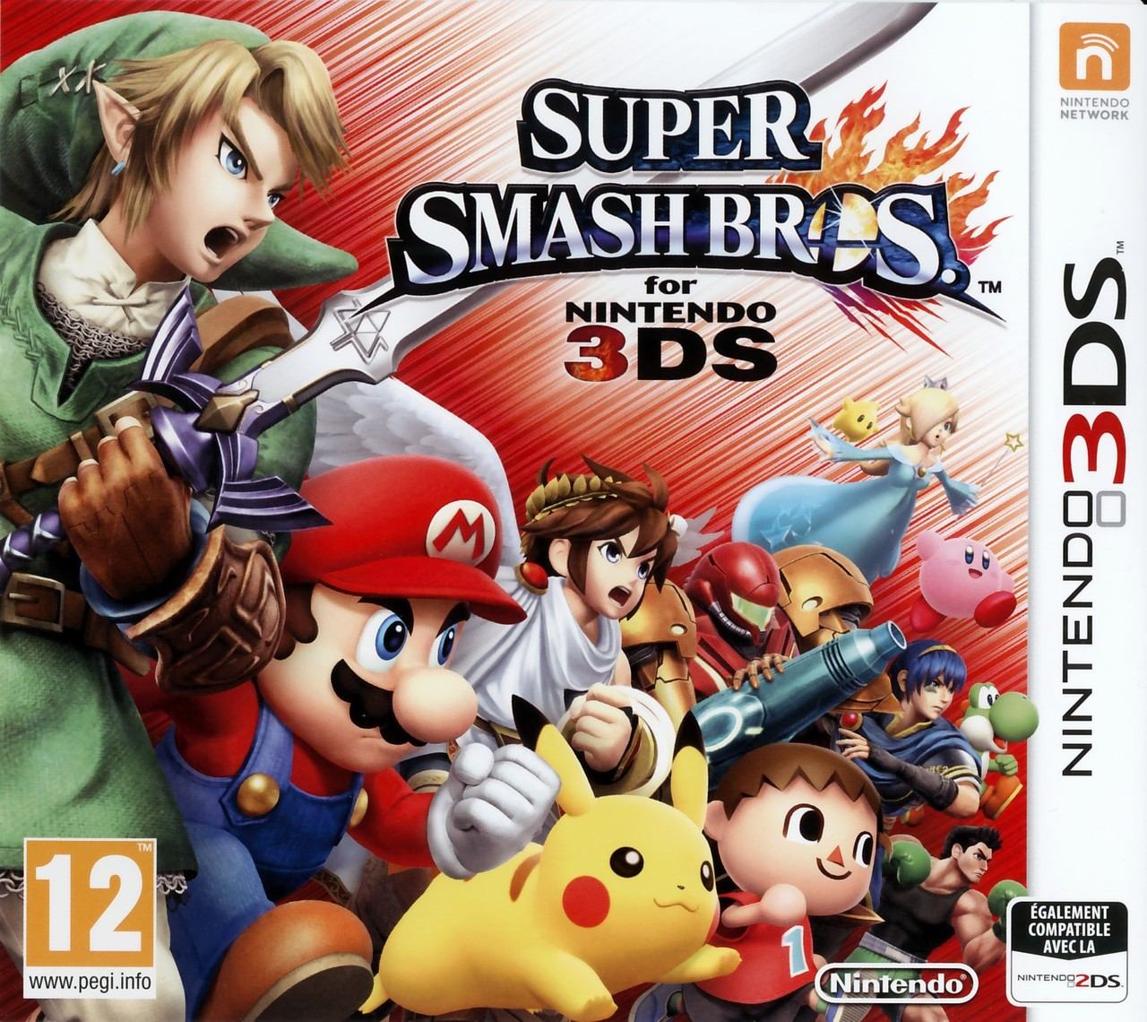 super smash bros for 3ds sur nintendo 3ds. Black Bedroom Furniture Sets. Home Design Ideas