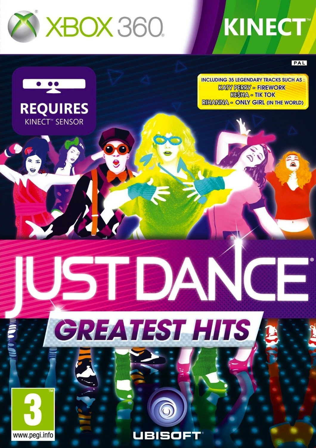just dance greatest hits sur xbox 360. Black Bedroom Furniture Sets. Home Design Ideas