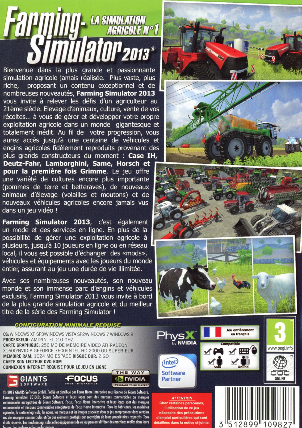 Farming Simulator 2013 for PC Reviews Metacritic