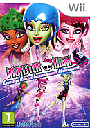 Images Monster High : Course de Rollers Incroyablement Monstrueuse Wii - 0