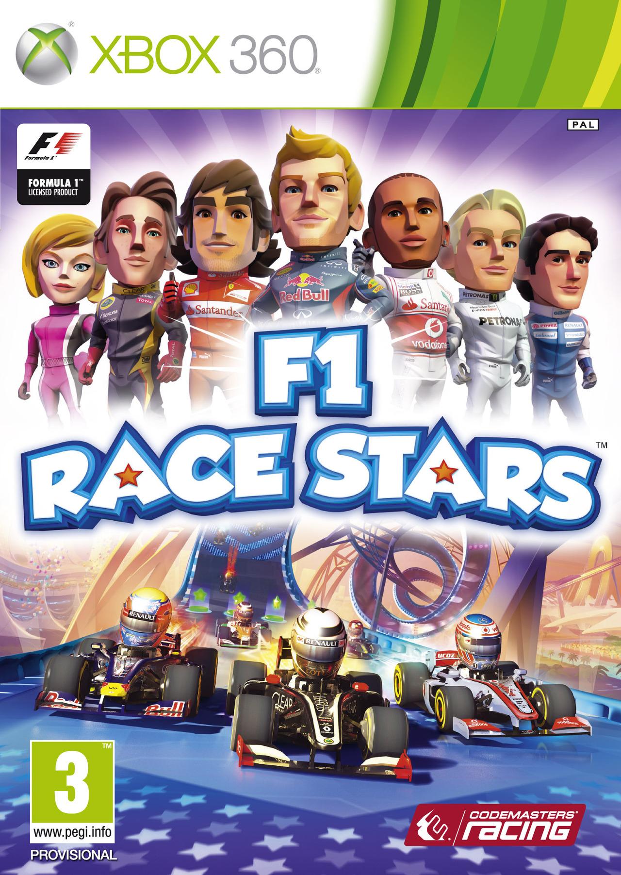 F1 Race Stars XBOX360 [FR] [MULTI]