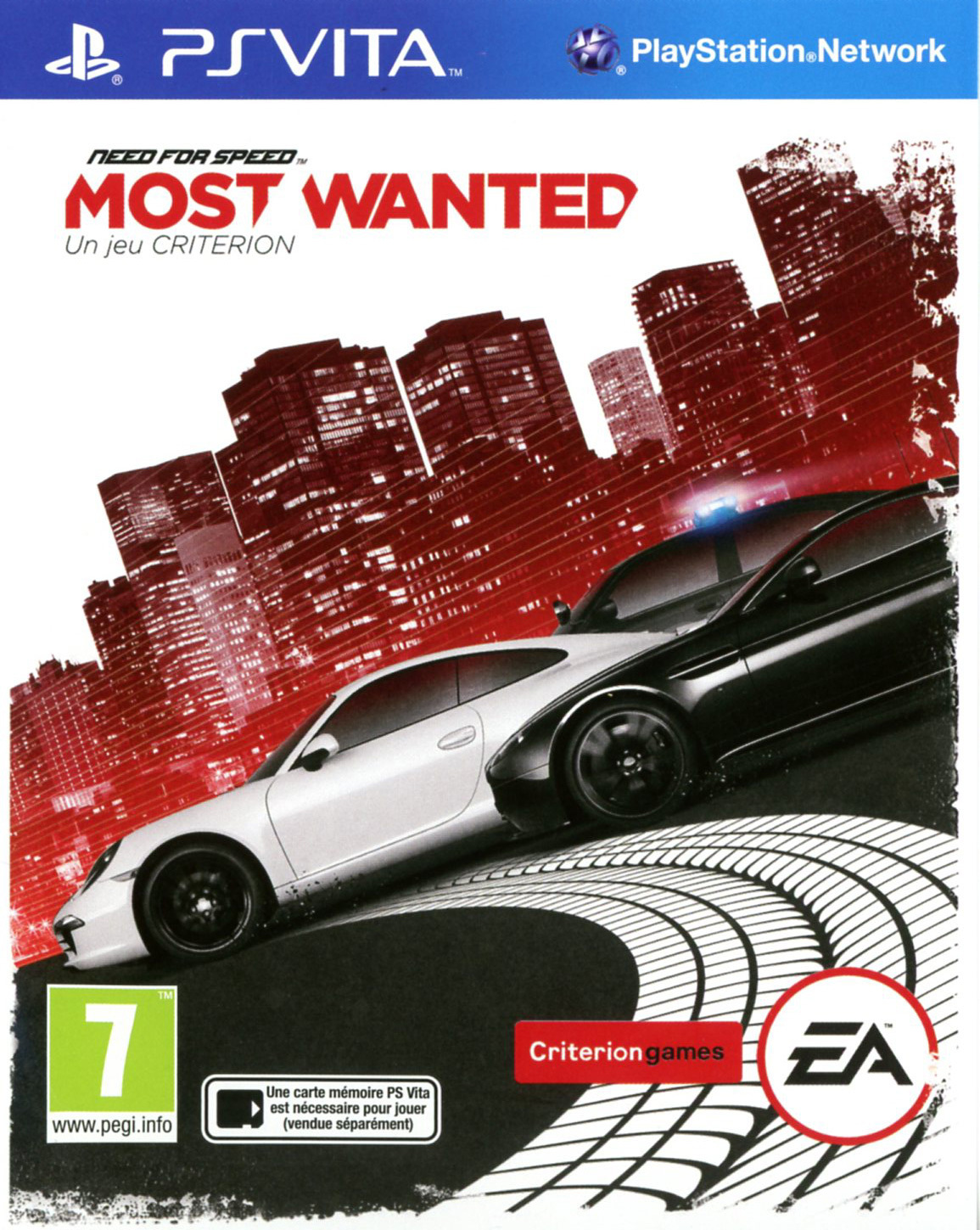 need for speed most wanted sur playstation vita. Black Bedroom Furniture Sets. Home Design Ideas