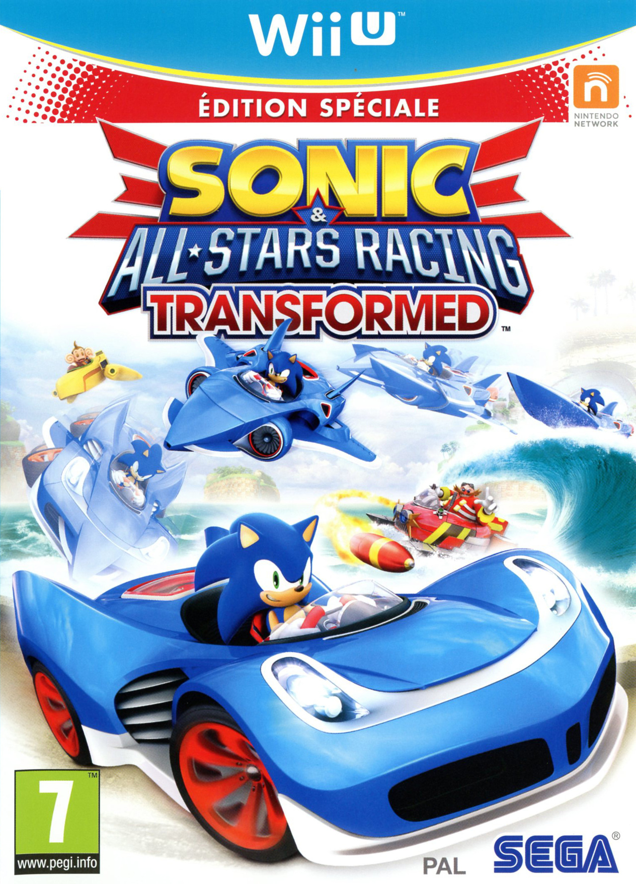 Images Sonic & All Stars Racing Transformed Wii U - 1