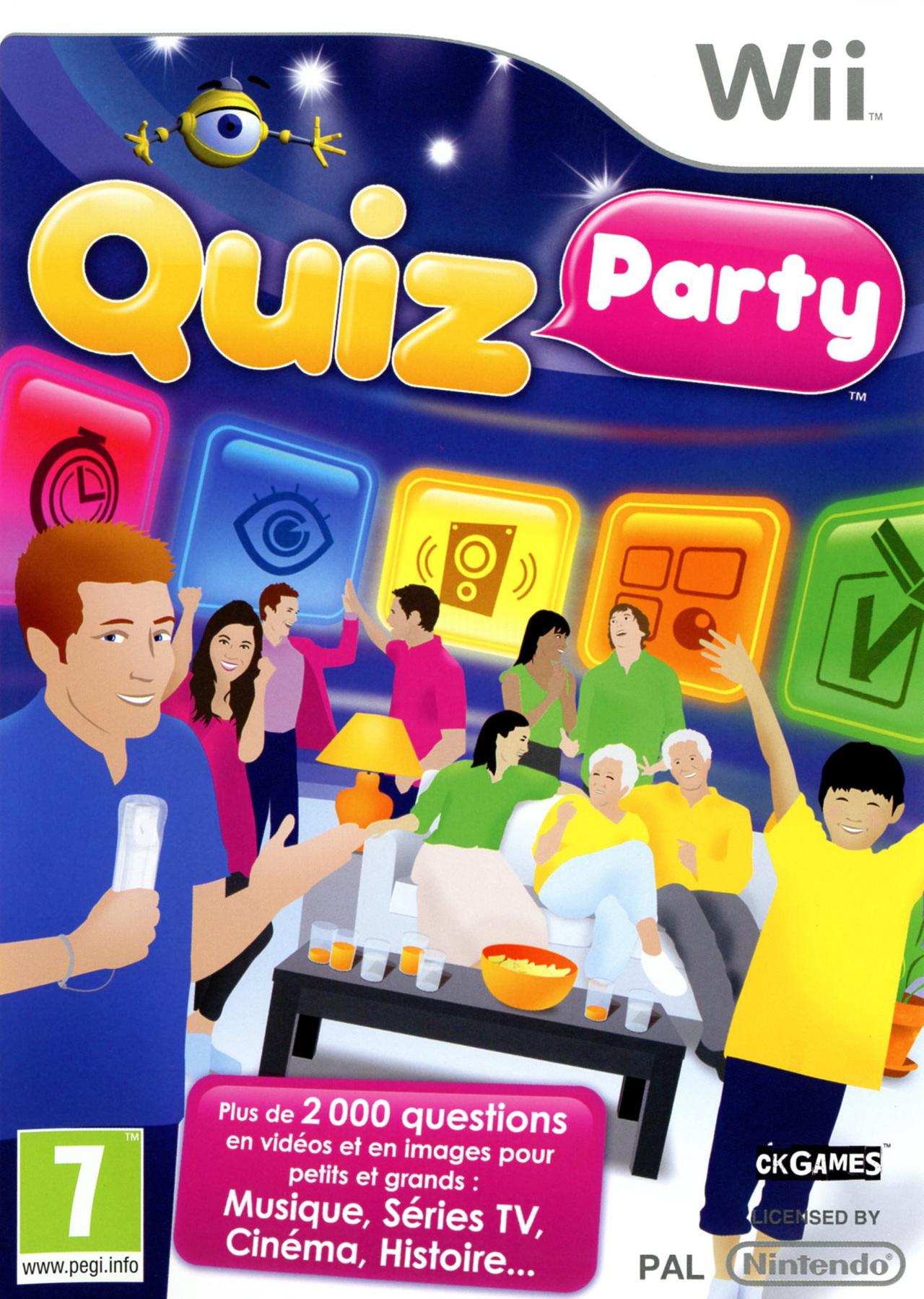 Quiz Party sur Wii - jeuxvideo.com