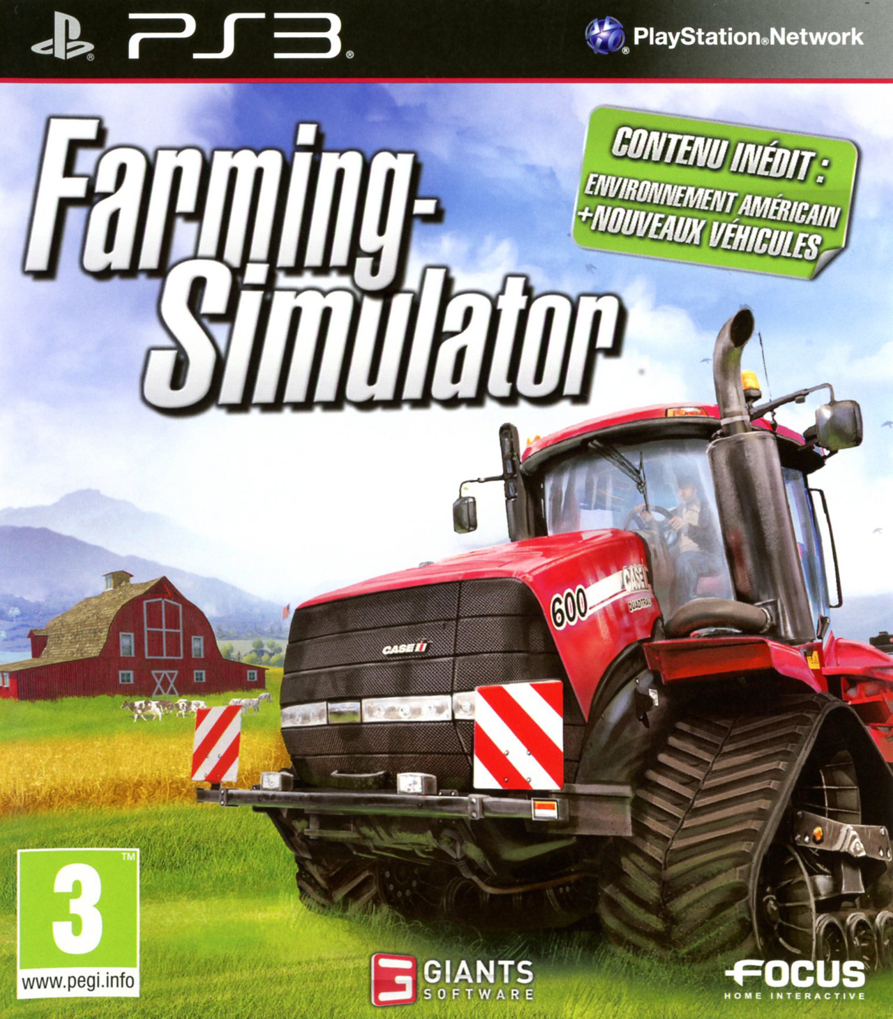 farming simulator sur playstation 3. Black Bedroom Furniture Sets. Home Design Ideas