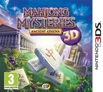 mahjong mysteries ancient athena 3d sur nintendo 3ds. Black Bedroom Furniture Sets. Home Design Ideas