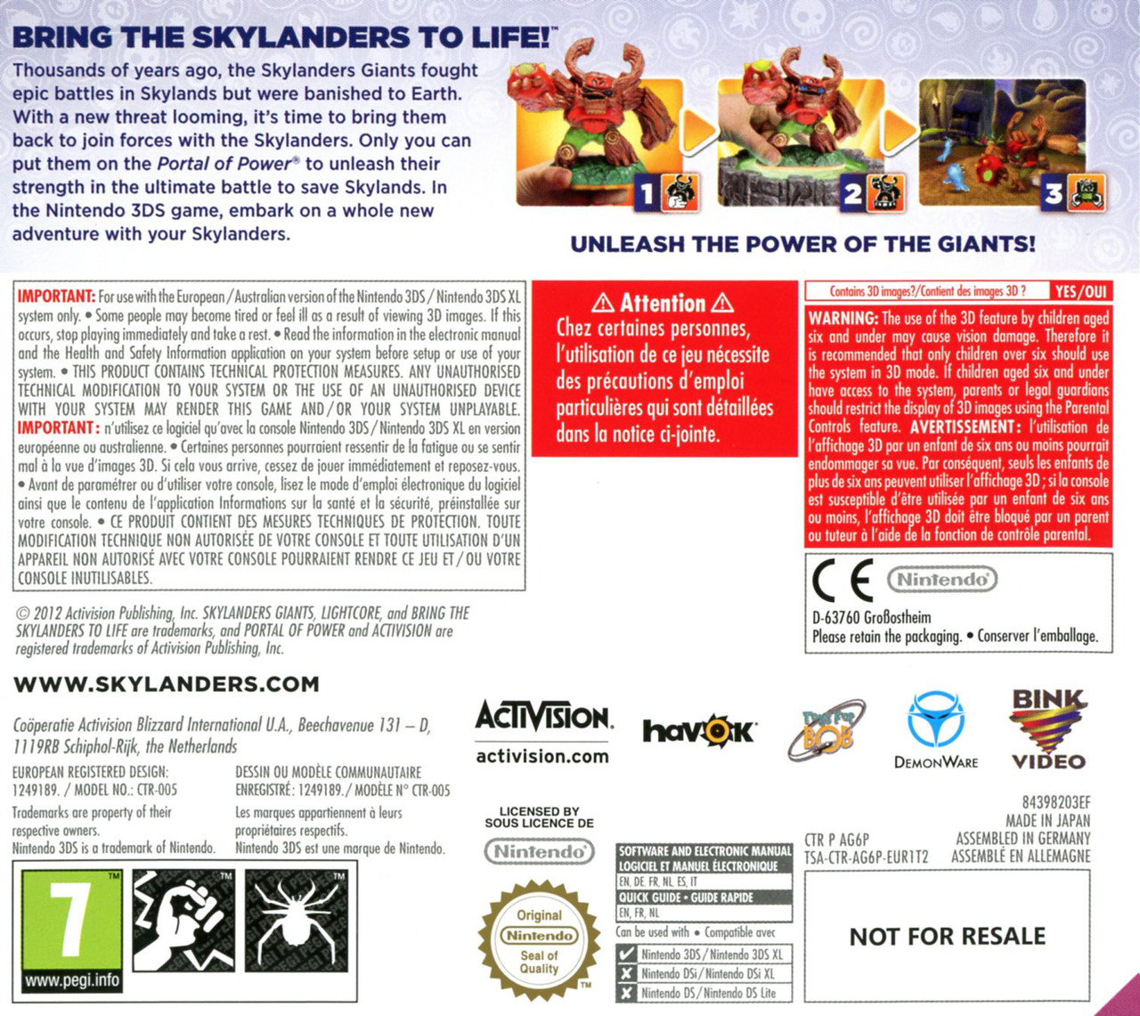 Images Skylanders Giants Nintendo 3DS - 2