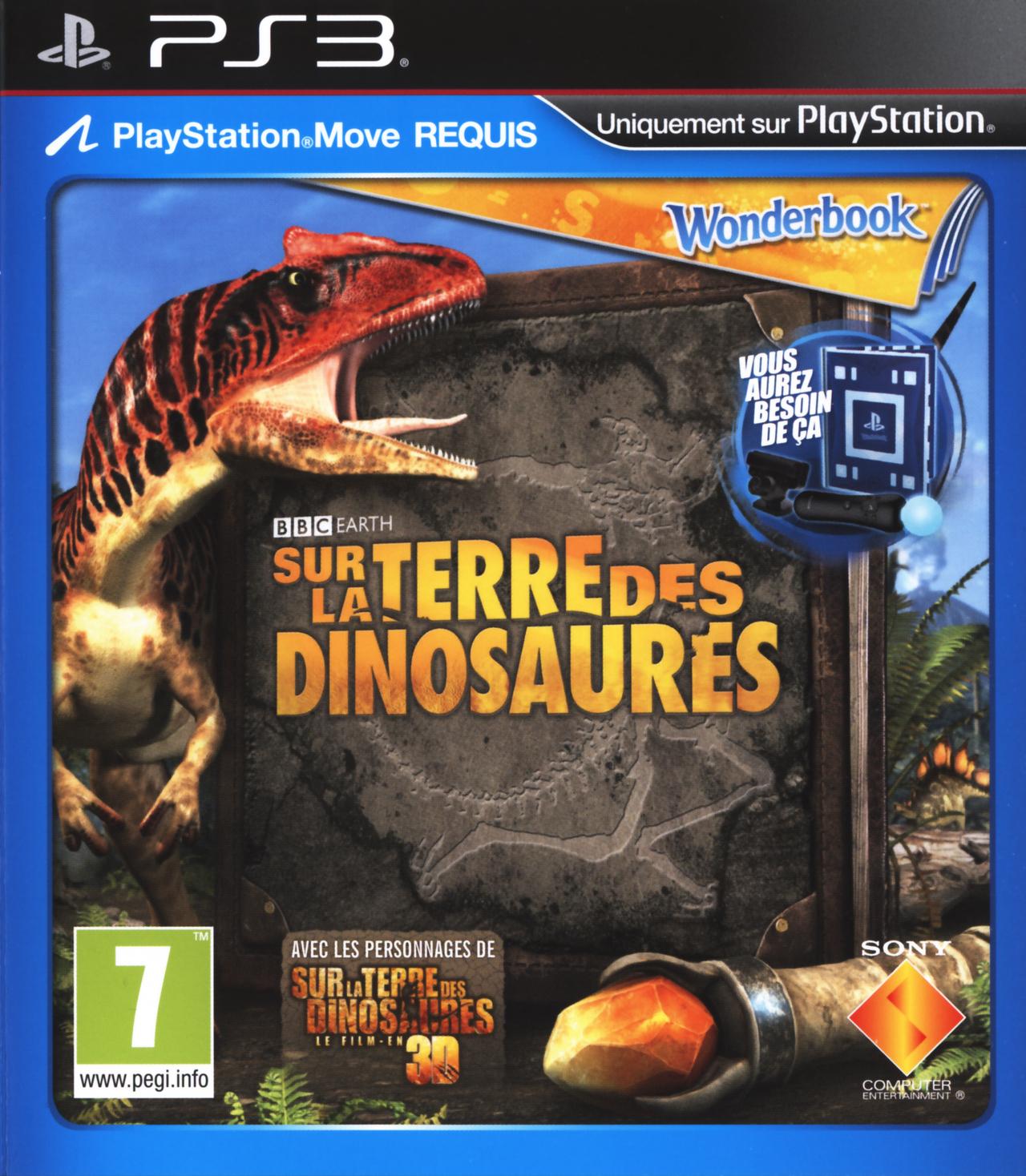 wonderbook sur la terre des dinosaures sur playstation 3. Black Bedroom Furniture Sets. Home Design Ideas