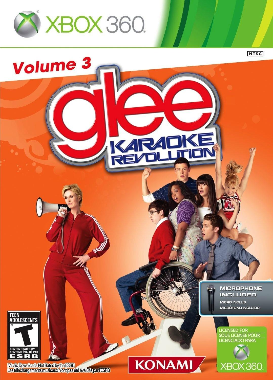 glee karaoke revolution volume 3 sur xbox 360. Black Bedroom Furniture Sets. Home Design Ideas