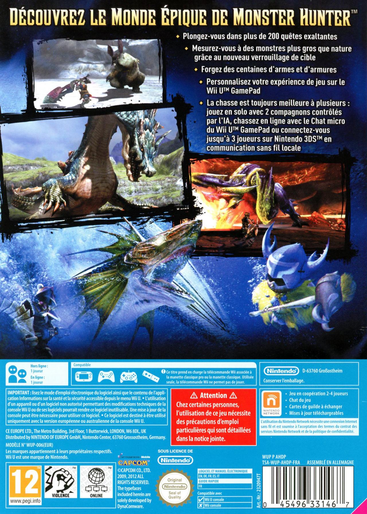 jeuxvideo.com Monster Hunter 3 Ultimate - Wii U Image 2 sur 445