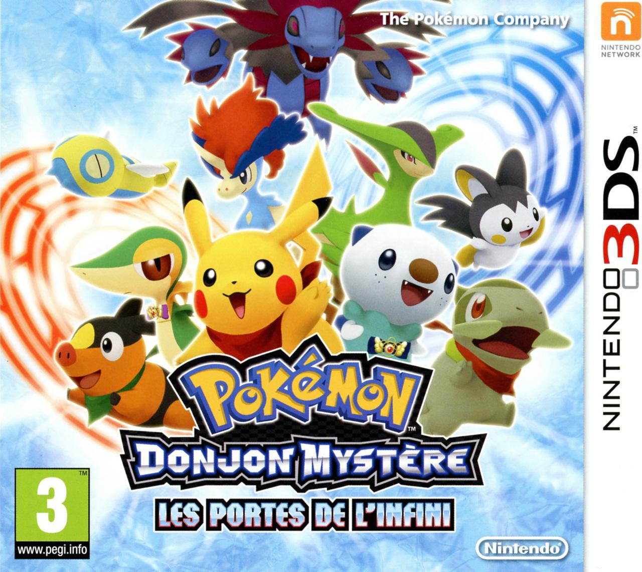 Telecharger Pokémon Donjon Mystère: Les Portes de l'Infini [3DS]