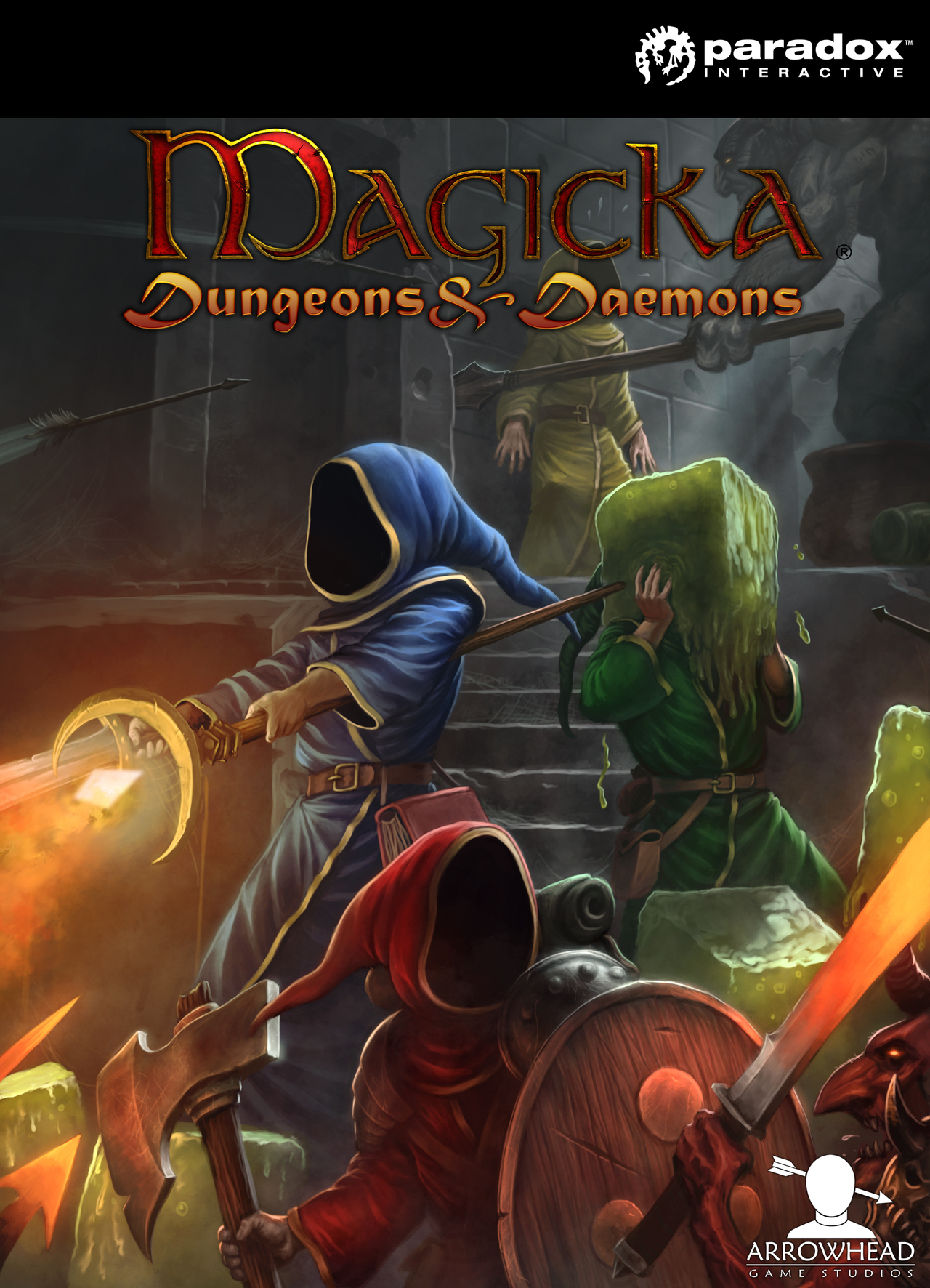 Magicka: Dungeons and Daemons 2012 pc game Img-1
