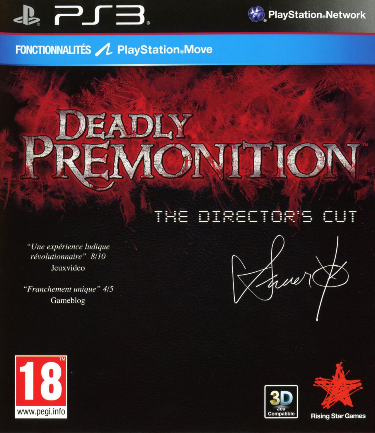 deadly premonition the director 39 s cut sur playstation 3. Black Bedroom Furniture Sets. Home Design Ideas