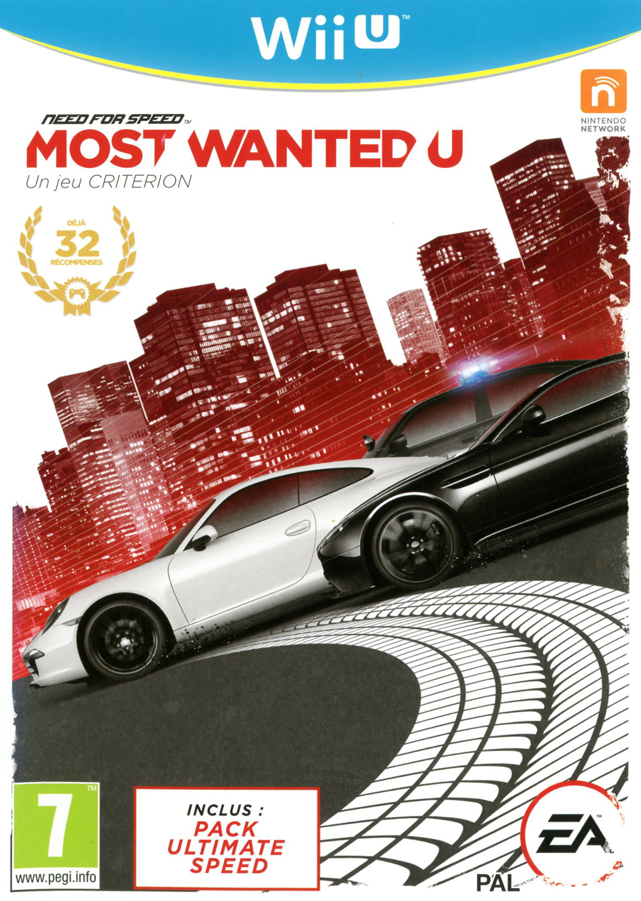 Need For Speed Most Wanted U Sur Wii U Jeuxvideo Com