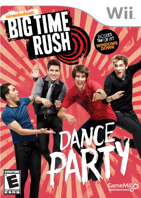 [MULTI] Big Time Rush : Dance Party [Wii] [ENG]