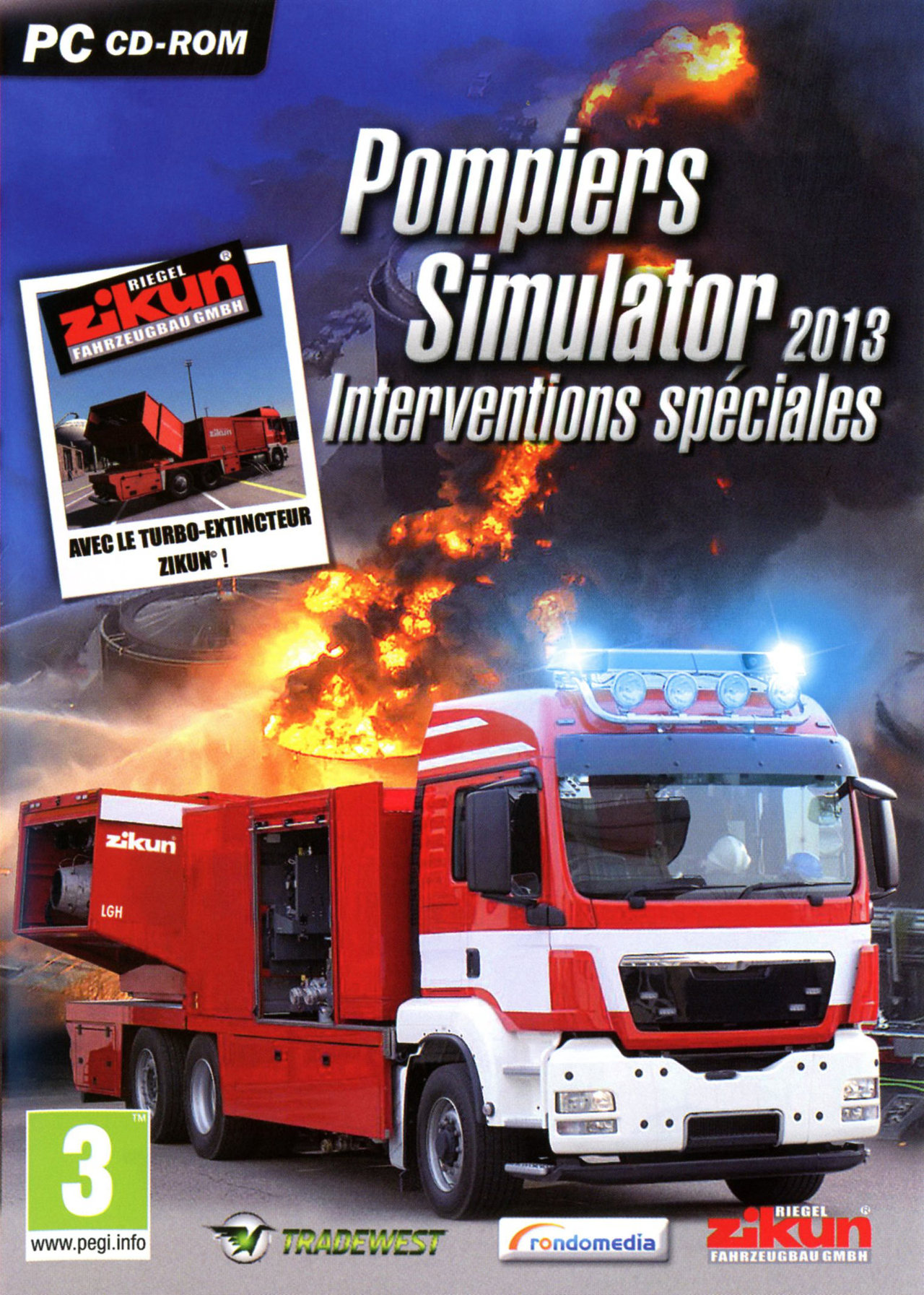 pompiers simulator 2013 interventions sp ciales sur pc. Black Bedroom Furniture Sets. Home Design Ideas