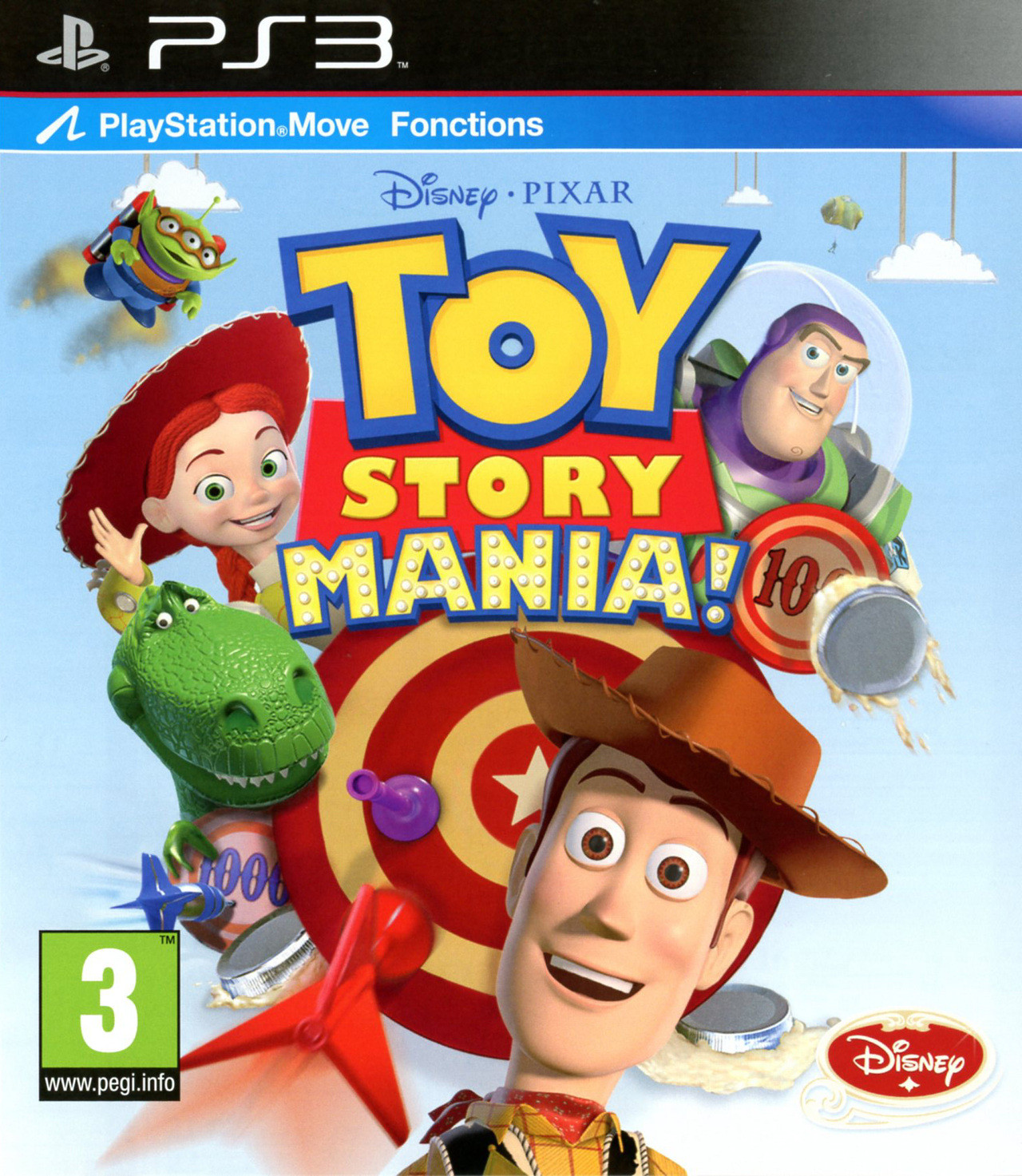 Toy Story Games : Toy story mania sur playstation jeuxvideo
