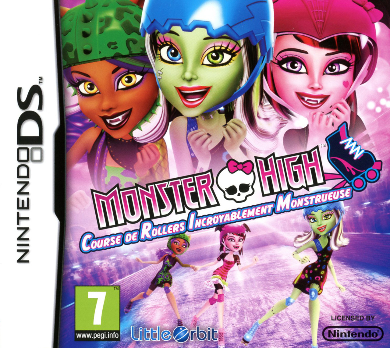Images Monster High : Course de Rollers Incroyablement Monstrueuse