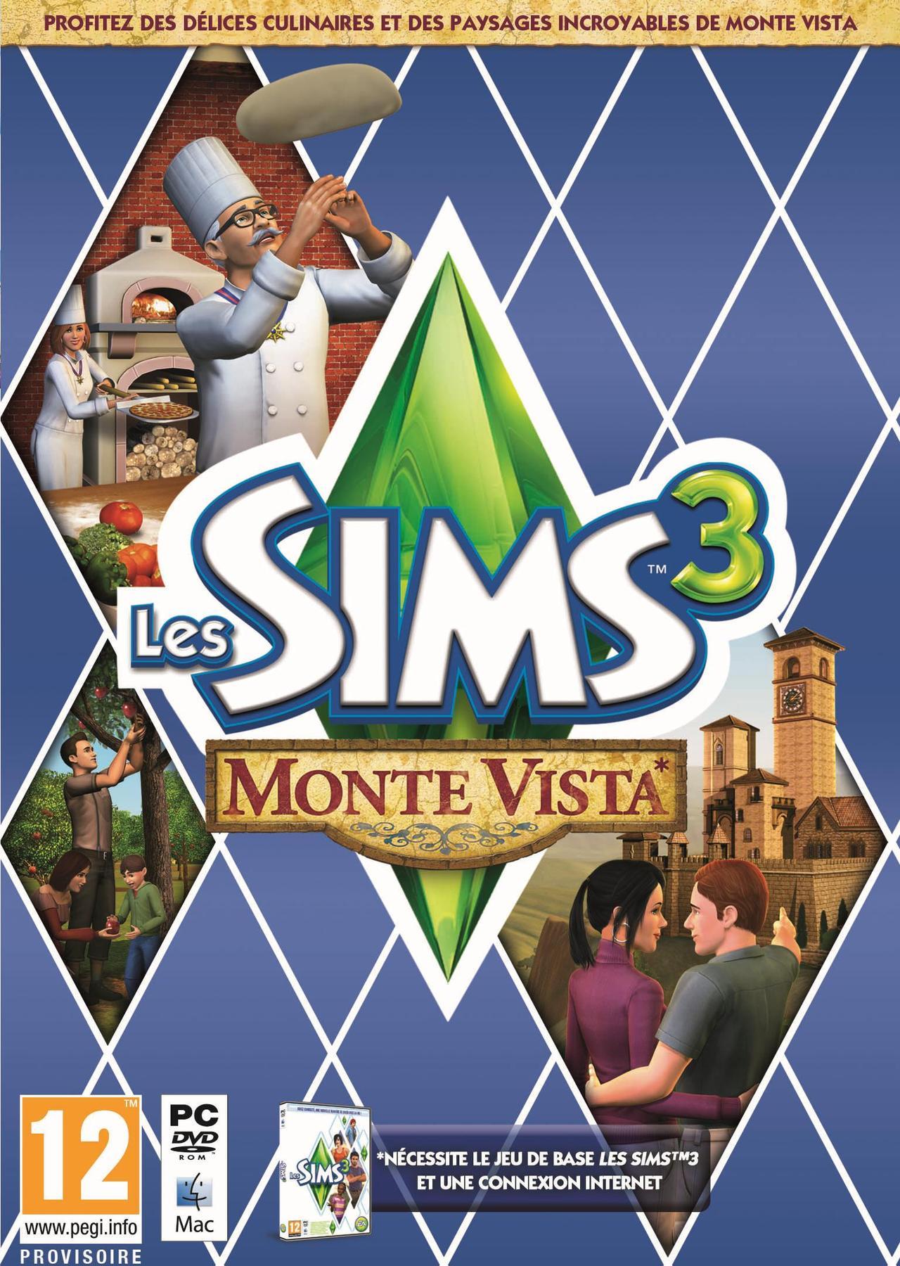 Les Sims 3 : Monte Vista  [PC] (Exclue) [MULTI]