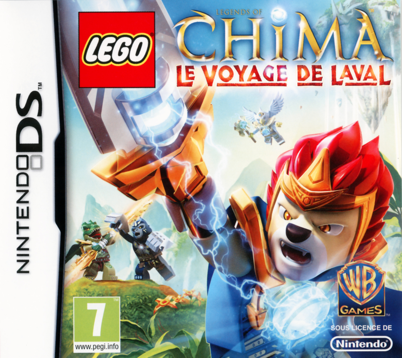 lego legends of chima le voyage de laval sur nintendo ds. Black Bedroom Furniture Sets. Home Design Ideas