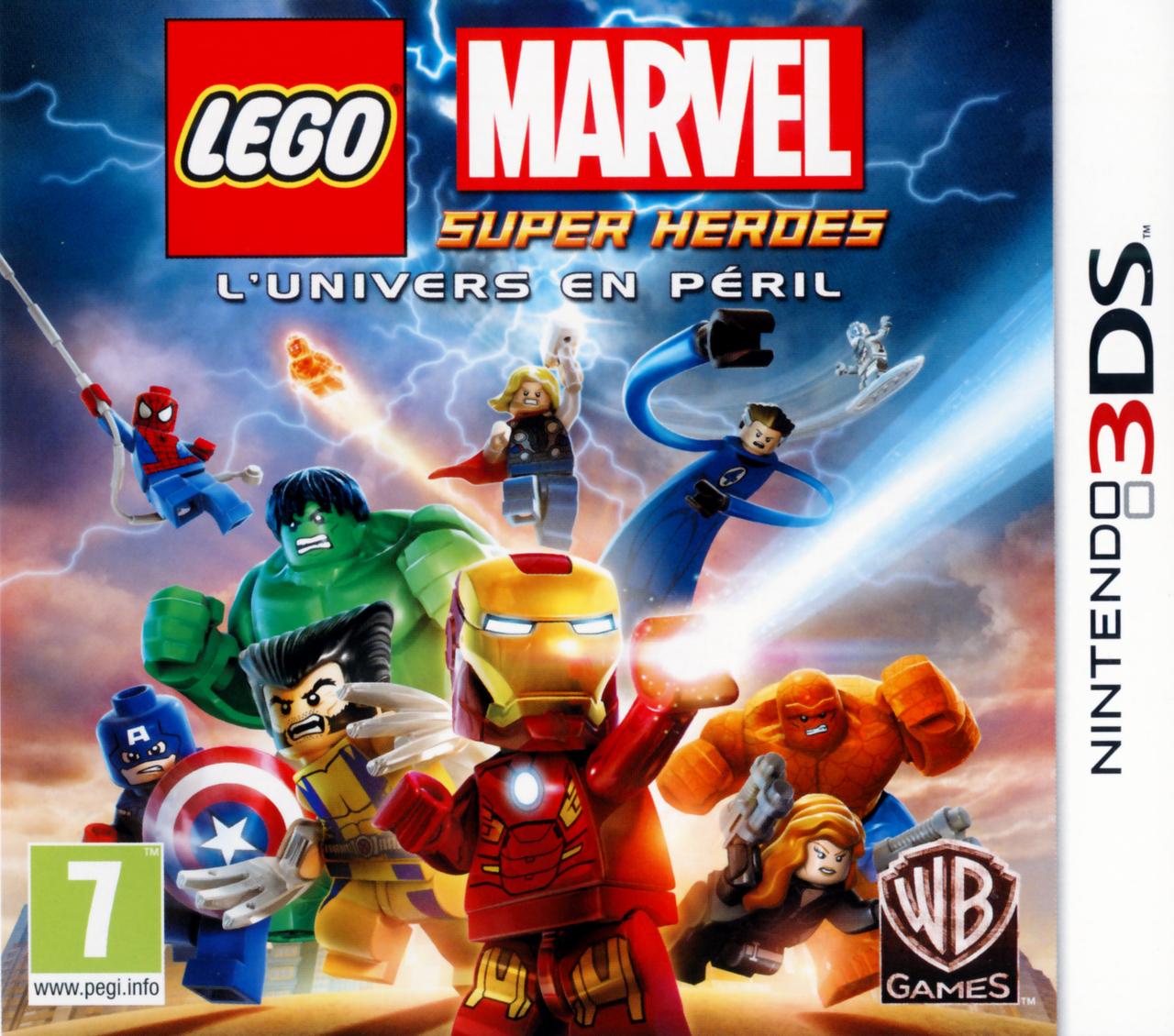 Lego Marvel Super Heroes L Univers En P 233 Ril Sur Nintendo