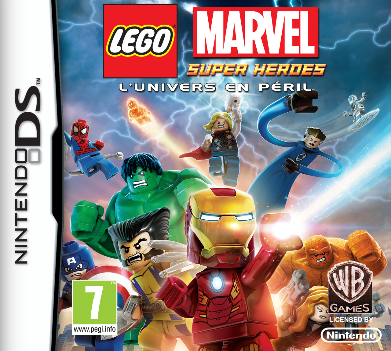 lego marvel super heroes l 39 univers en p ril sur nintendo ds. Black Bedroom Furniture Sets. Home Design Ideas
